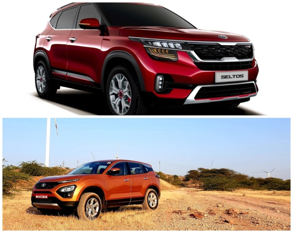 Kia Seltos vs Tata Harrier image