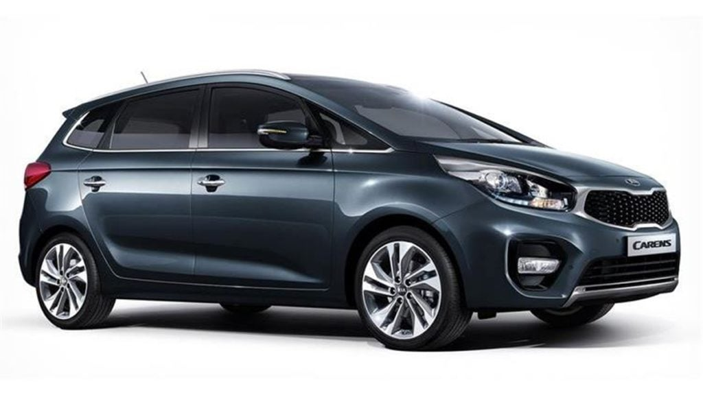 The new Kia MPV will sit below the Kia Carens in the brand's lineup