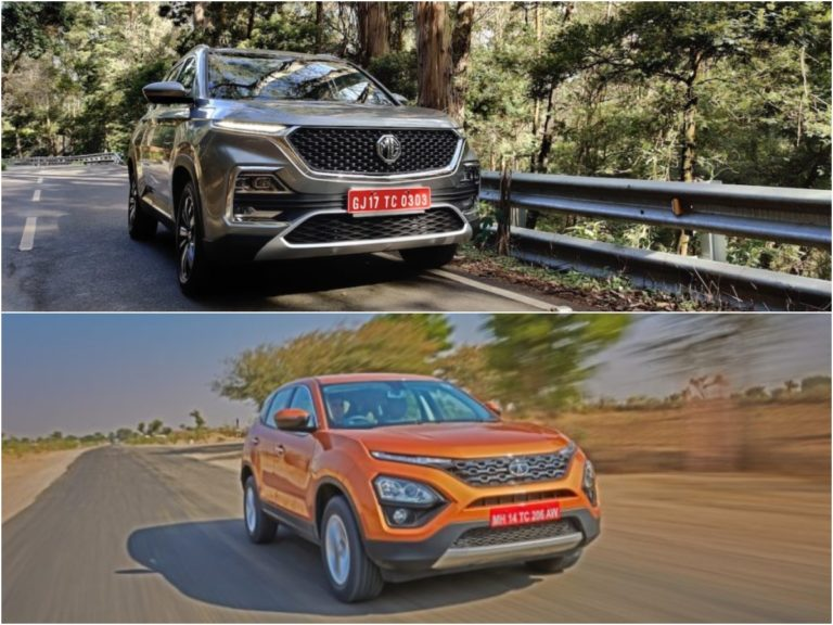 MG Hector vs Tata Harrier – Prices, Design and Engine Comparison