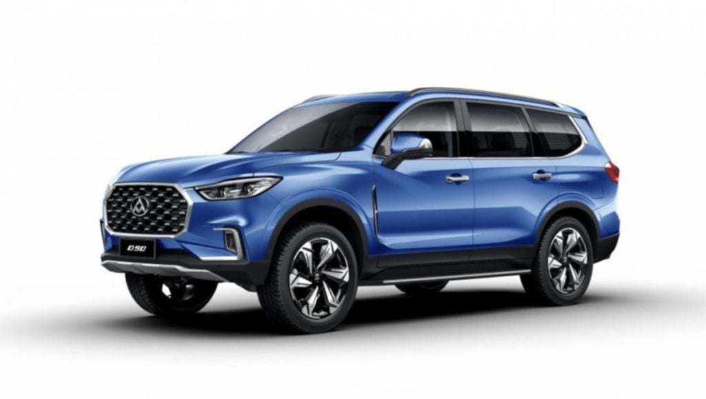 MG will also bring the Maxus D90 in the full size SUV segment