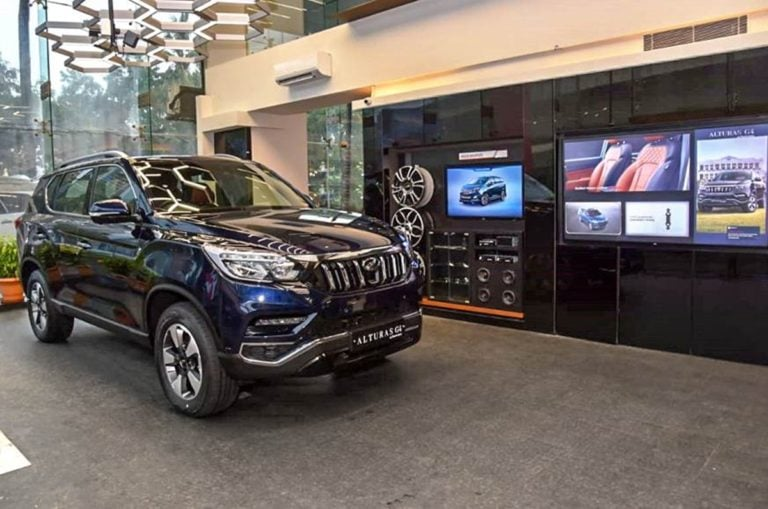 Mahindra unveils new World Of SUVs dealership Format For Its Premium SUVs