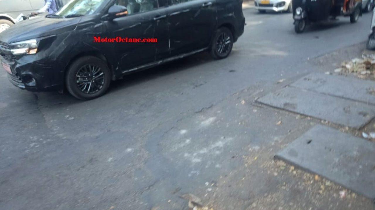 Maruti Suzuki Ertiga Cross Spied Will Get A 6 Seat Layout And
