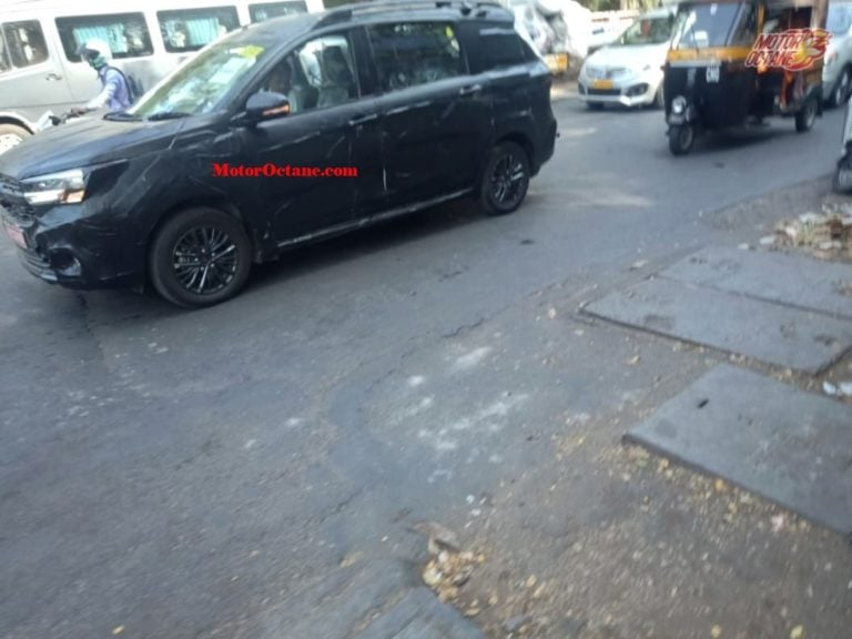 Maruti Suzuki Ertiga Cross Spied – Looks more sporty and gets a 6-seat layout