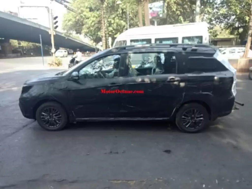 Maruti Suzuki Ertiga Cross Spotted Testing in Pune