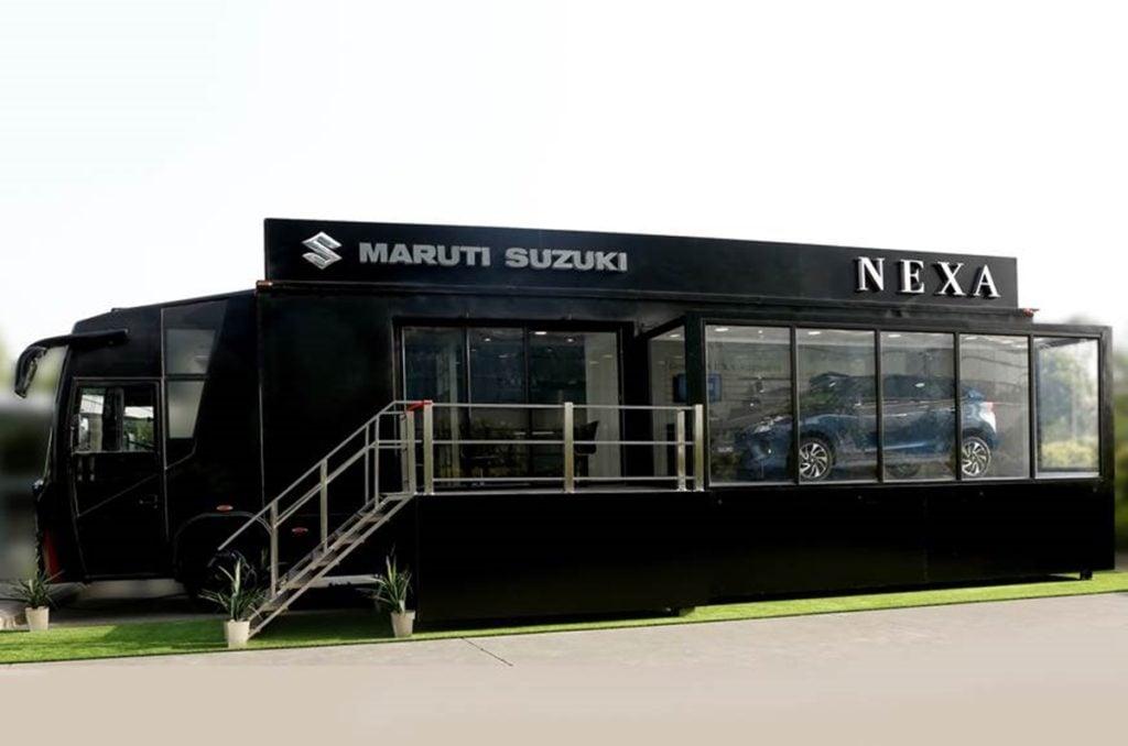 Maruti Suzuki mobile Nexa terminal