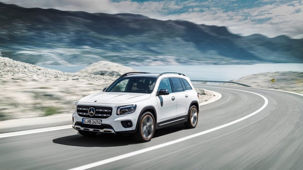 Mercedes-Benz GLB unveiled globally