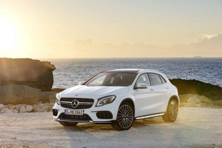 All New Next-Gen Mercedes-Benz GLA to Debut at Frankfurt Motor Show