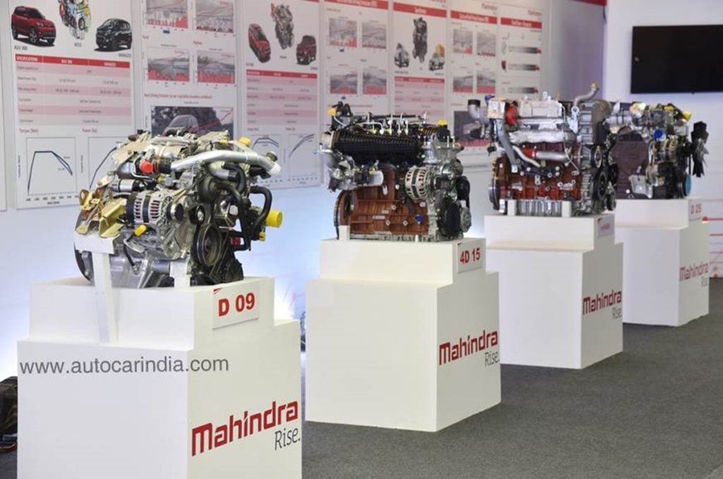 New line-up of Mahindra BS-VI engines