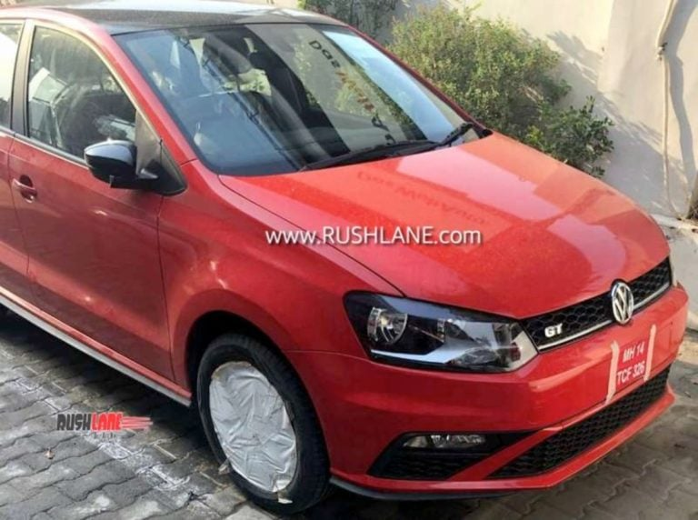New Volkswagen Polo, Vento Spotted; Design Changes Inspired From GTI