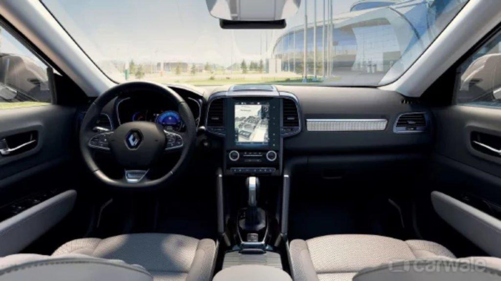 Renault Koleos Facelift  - Interiors