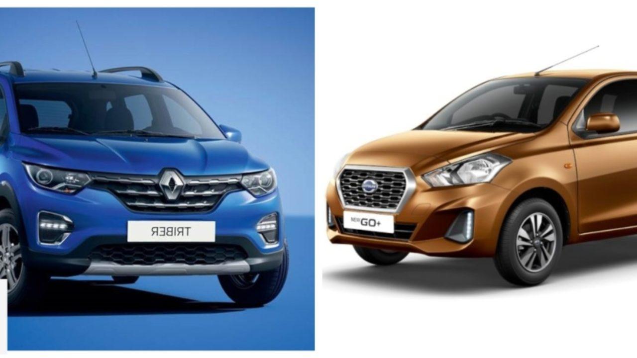 Renault Triber Vs Datsun Go Plus Spec Comparison