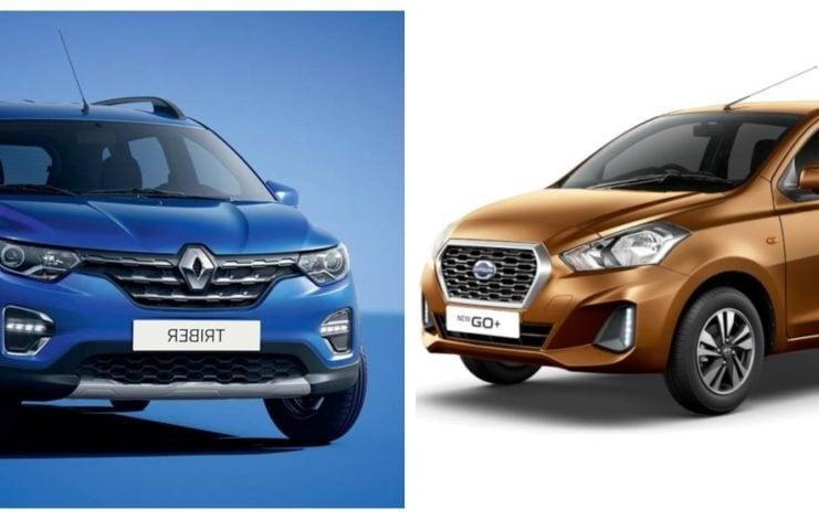 Renault Triber vs Datsun GO Plus image