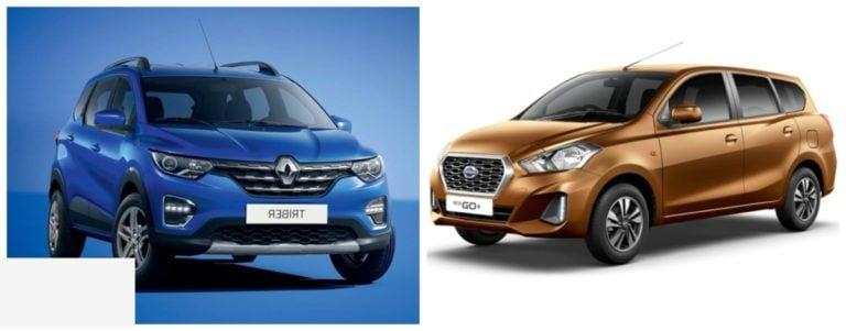 Renault Triber vs Datsun GO Plus – Spec Comparison