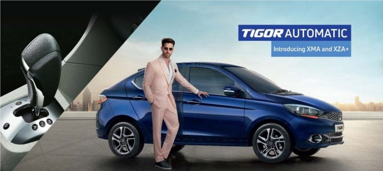 Tata Tigor New Automatic Trims Launched – Prices & Details