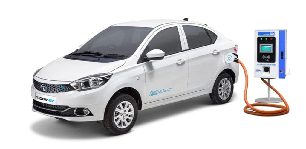 Tata Tigor Electric Driving Range Image