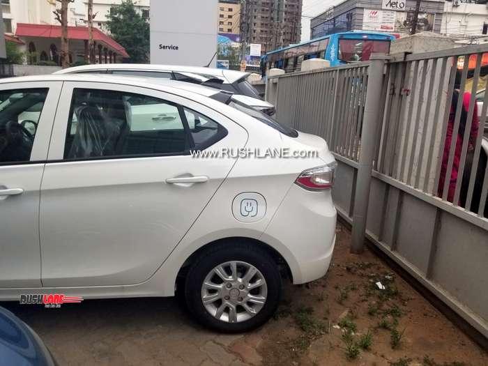 Tata Tigor EV rear image