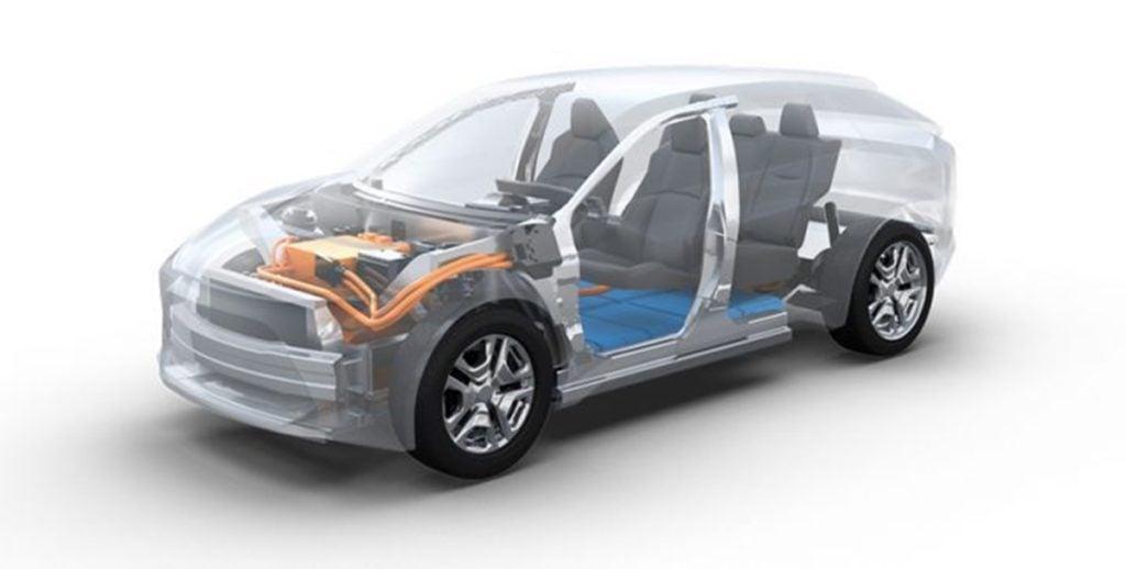 Toyota Electric Cars platform