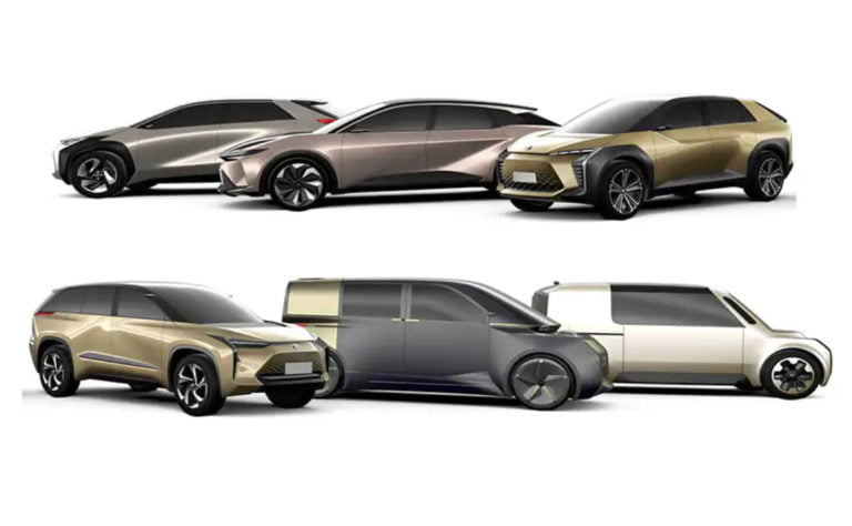 Toyota To Launch 10 Battery Electric Cars by 2025