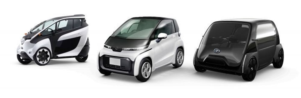 Toyota's Compact electric car concepts