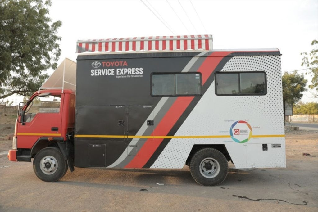 Toyota Service Express Mobile Truck