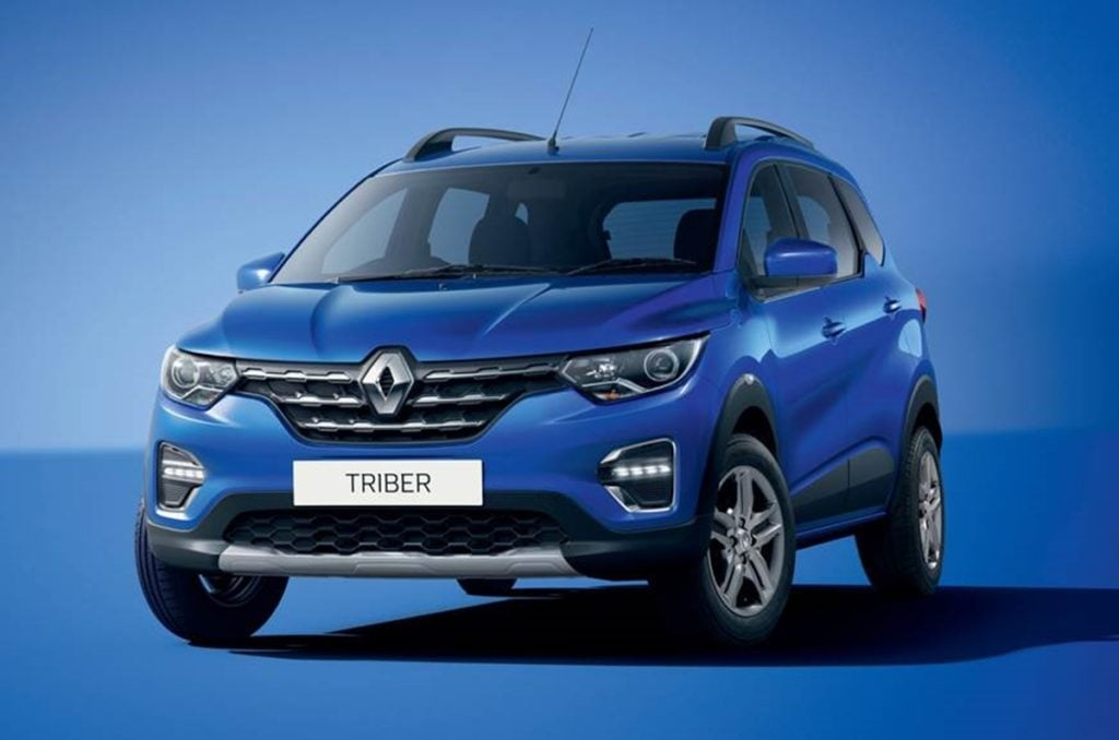 Renault Triber - the new seven seater car from Renault