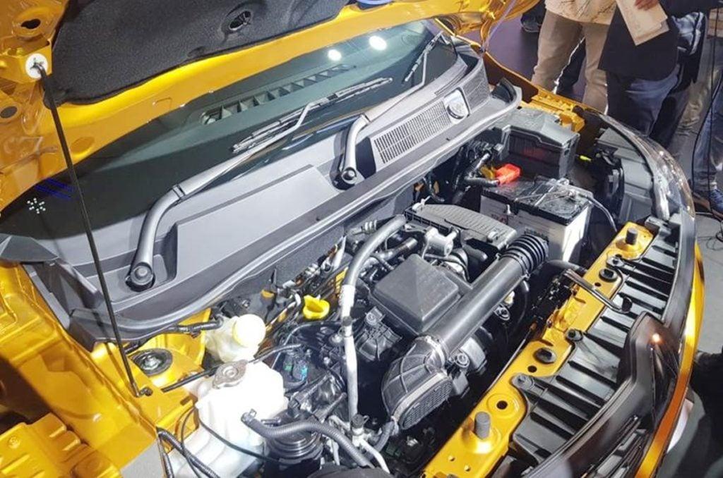 Renault Triber's 1.0L, 3-cylinder engine