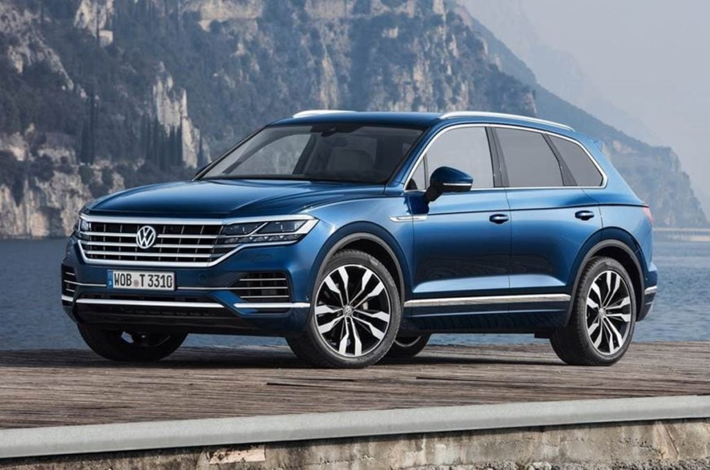 Volkswagen Touareg - the big SUV from VW is big on everything