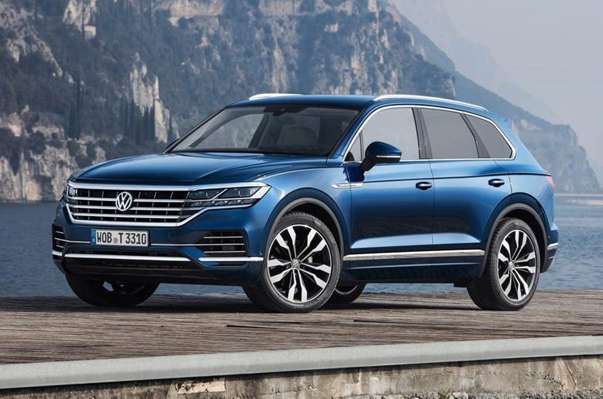 Volkswagen Suvs T Cross T Roc Tiguan Allspace Touareg India Bound
