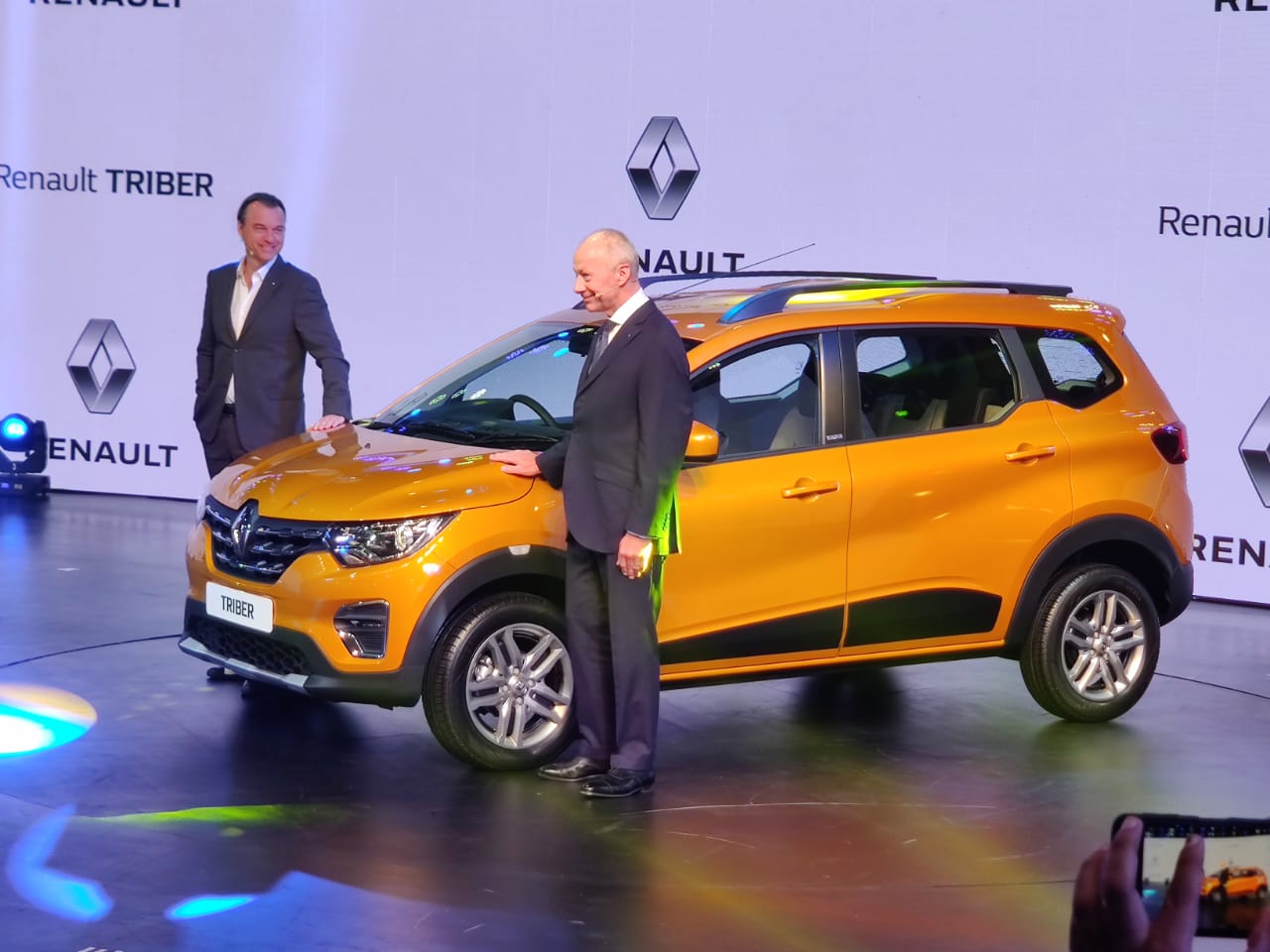 Renault Triber Unveiled Is The Most Affordable 7 Seater Car