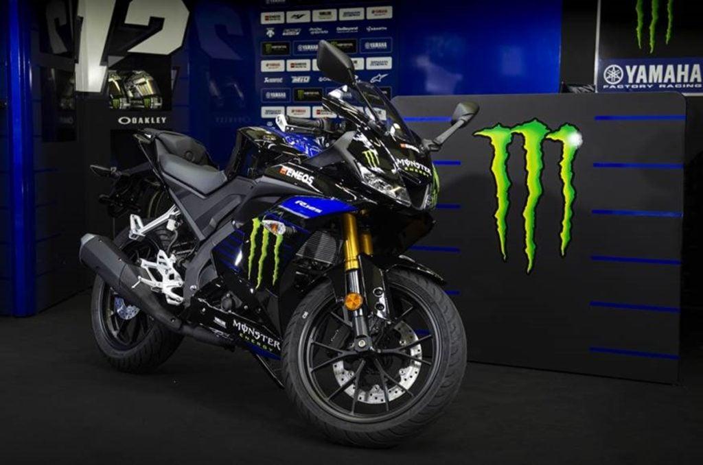 Yamaha YZF-R15 V3.0 Monster Energy MotoGP edition