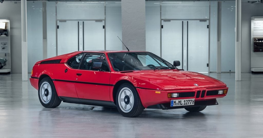 BMW M1 from 1978, the only standalone BMW M car