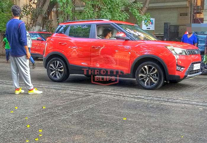 Mahindra XUV300 AMT Launch Expected This Month; Spied Testing