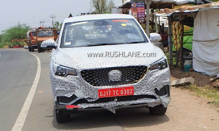 MG eZS Electric SUV India Launch In December – New Spy Shots