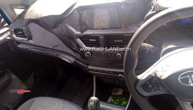 Tata Altroz Interiors Spotted Ahead Of Its Launch – Spy Shots