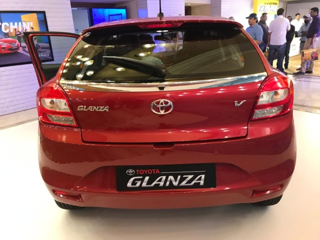 toyota glanza differences