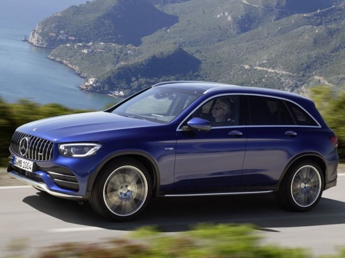 2020 Mercedes Benz GLC 43 AMG Coupe and SUV Facelift Revealed!