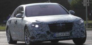 2020 Mercedes S Class image