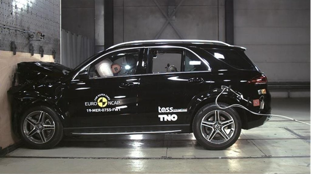 2019 Mercedes-Benz GLE scores 5-star safety rating by Euro NCAP