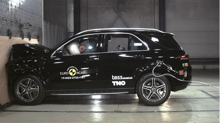 India-Bound 2019 Mercedes-Benz GLE Scores 5-Stars Safety Rating by Euro NCAP