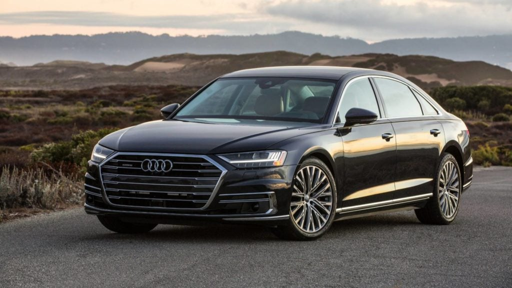 Audi A8, one of the two new Audi's launching this month