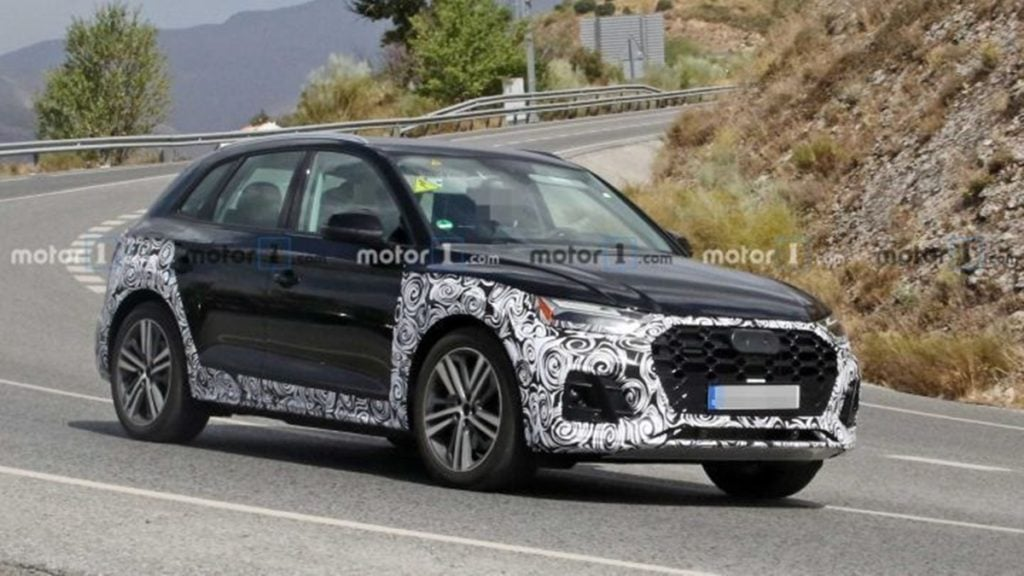 2020 Audi Q5 facelift spotted testing for the first time
