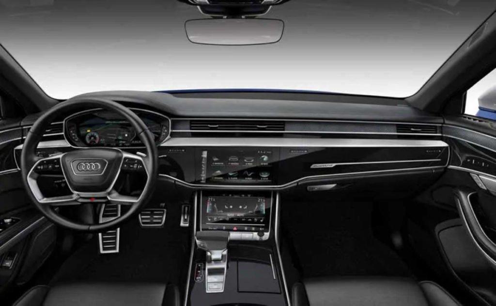 2020 Audi S8 interiors