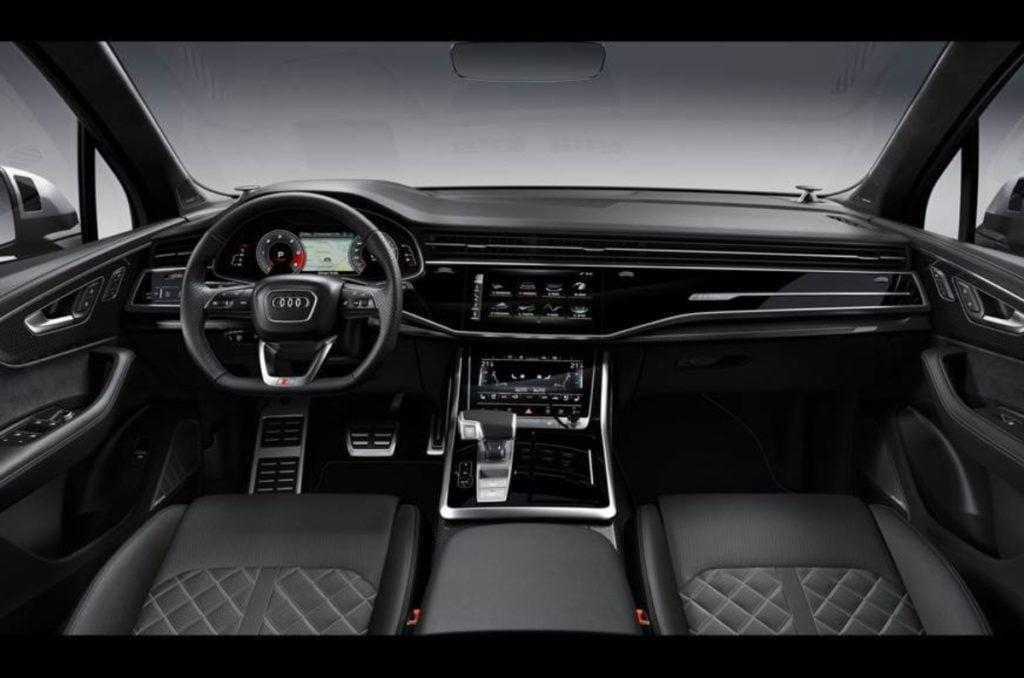 Audi Sq7 Facelift Gets Interior Changes And Same V8 Diesel