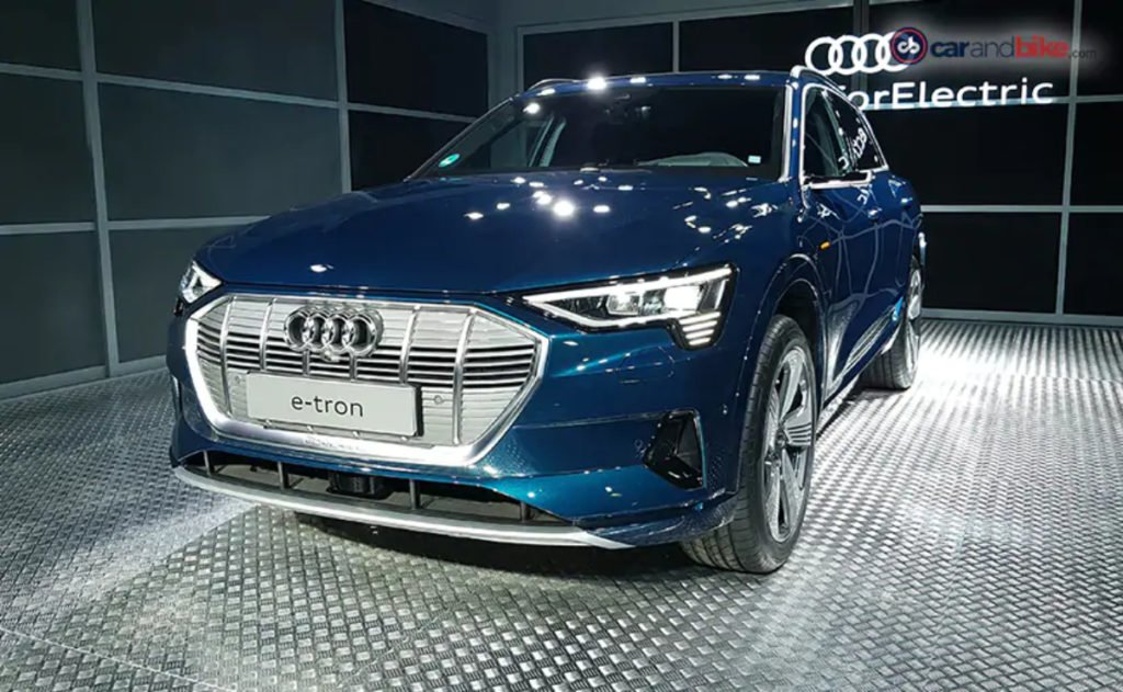 Audi e-Tron unveiled in India