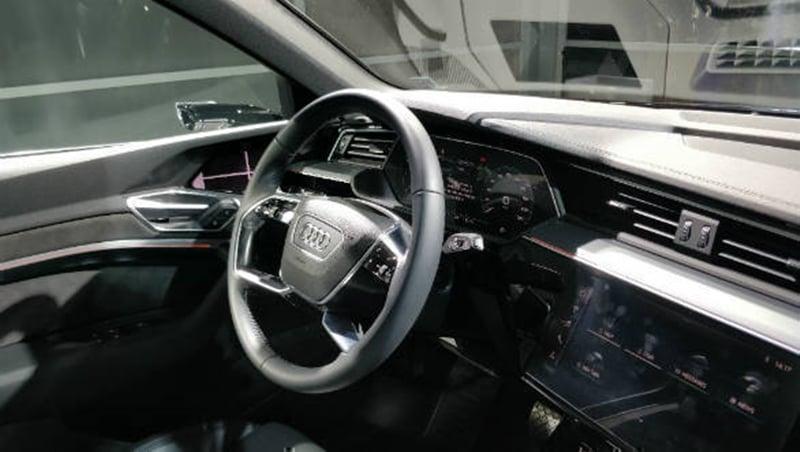 Audi e-Tron interiors