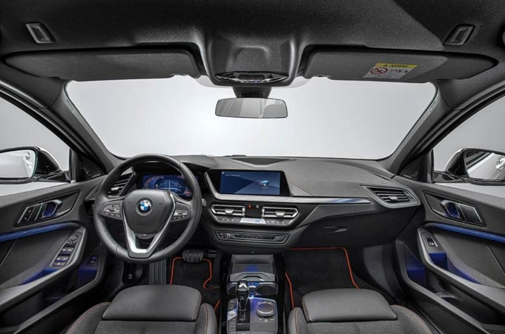 Interior rendering of the 2-series Gran Coupe