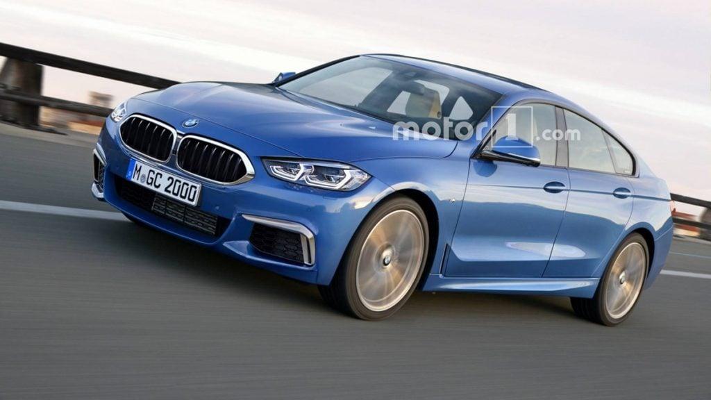 BMW 2-series Gran Coupe Rendering