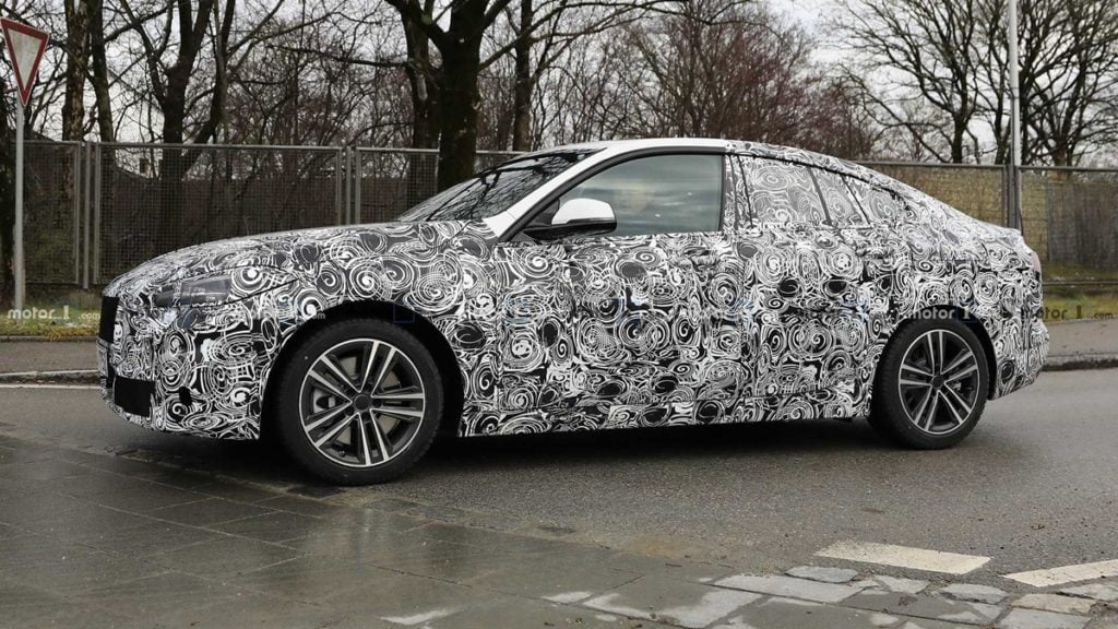 BMW 2-series Gran Coupe spotted testing internationally