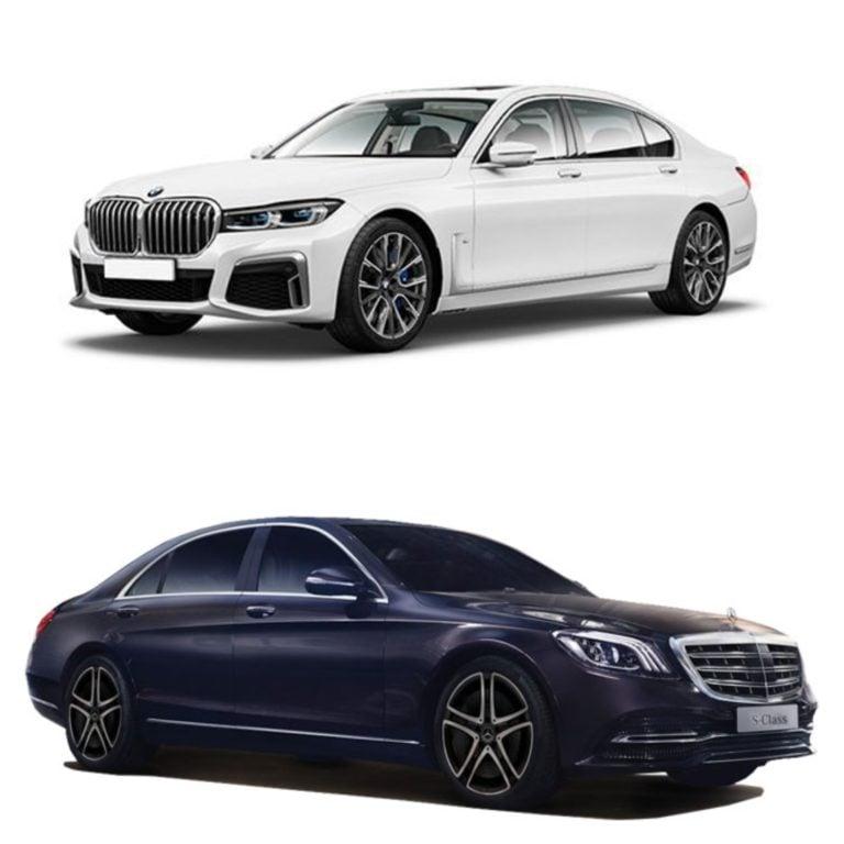 BMW 7 Series vs Mercedes Benz S Class – Specifications Comparison