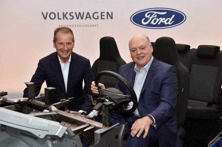 Ford to Use Volkswagen MEB Platform for atleast One Electric Car by 2023